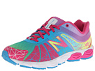 New Balance Kids 890v4 Big Kid Rainbow Shoes