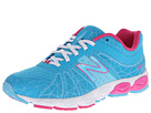 New Balance Kids 890v4 Big Kid Blue, Pink Shoes