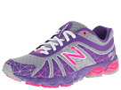 New Balance Kids 890v4 Big Kid Silver, Purple Shoes