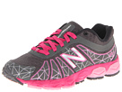 New Balance Kids 890v4 Little Kid Grey, Pink Shoes