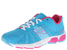 New Balance Kids 890v4 Little Kid Blue, Pink Shoes