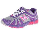 New Balance Kids 890v4 Little Kid Silver, Purple Shoes