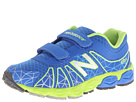 New Balance Kids KG890v4 Little Kid Blue, Green Shoes