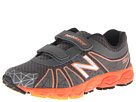 New Balance Kids KG890v4 Little Kid Grey, Orange Shoes