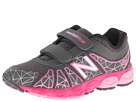 New Balance Kids KG890v4 Little Kid Grey, Pink Shoes