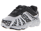 New Balance Kids KV890v4 Infant, Toddler Black, Silver Shoes