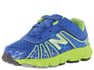 New Balance Kids KV890v4 Infant, Toddler Blue, Green Shoes