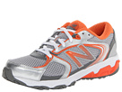 New Balance Kids KJ635 Little Kid, Big Kid Grey, Orange Shoes