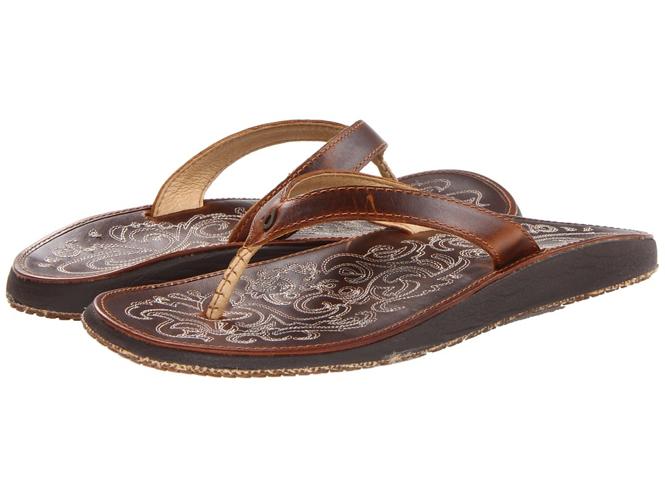 OluKai Paniolo (Natural/Natural) Sandals
