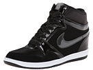 Nike - Force Sky High Sneaker Wedge (Black/Black/White/Anthracite)