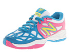 New Balance Kids KC996 Little Kid, Big Kid Pink, Blue Shoes