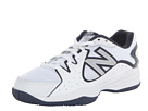 New Balance Kids KC786 Little Kid, Big Kid White, Navy Shoes