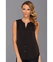 Kenneth Cole New York - Jolie Sleeveless Button-Front Top