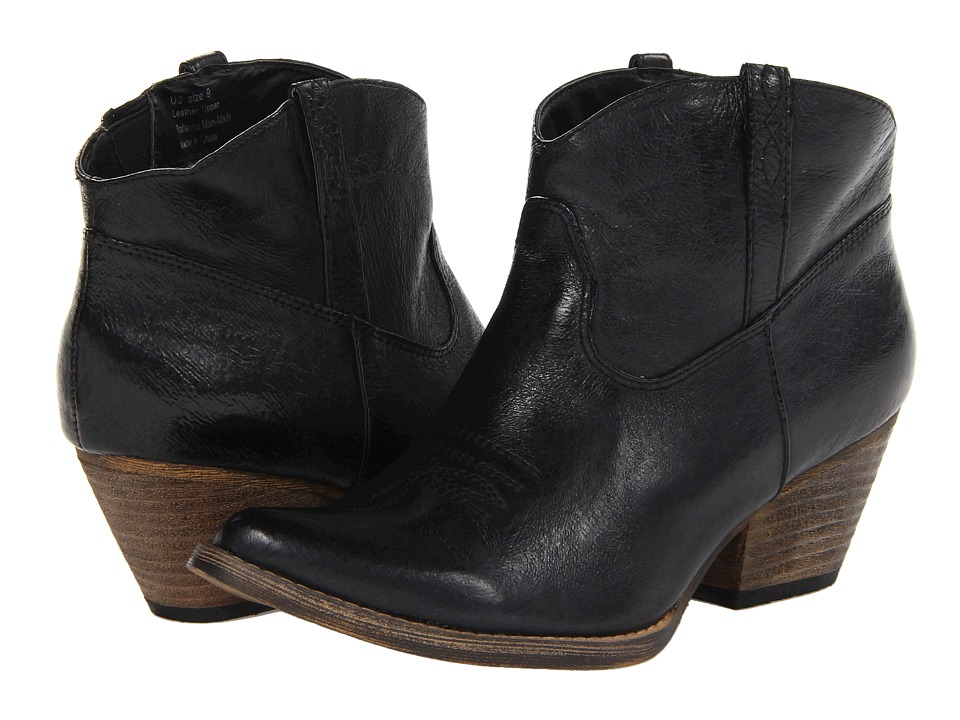 VOLATILE Banjo Black Womens Pull on Boots