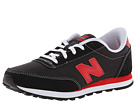 New Balance Kids 501 Little Kid, Big Kid Black, Red Shoes