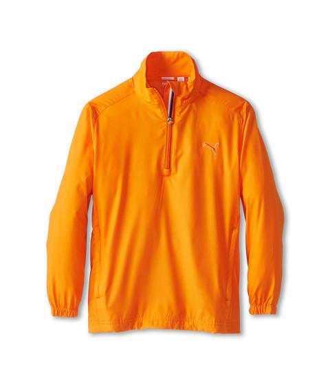 PUMA Golf Kids Half Zip Wind Jacket (Big Kids)