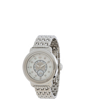 Glam Rock - 40mm Stainless Steel Watch with Diamond Dial and 7-Link Bracelet - GR77012