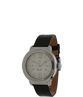 Glam Rock - 40mm Stainless Steel Watch with Black Alligator Print Strap - GR77000