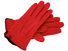 LAUREN Ralph Lauren - Contrast Points Touch Glove (Rich Red/Black)