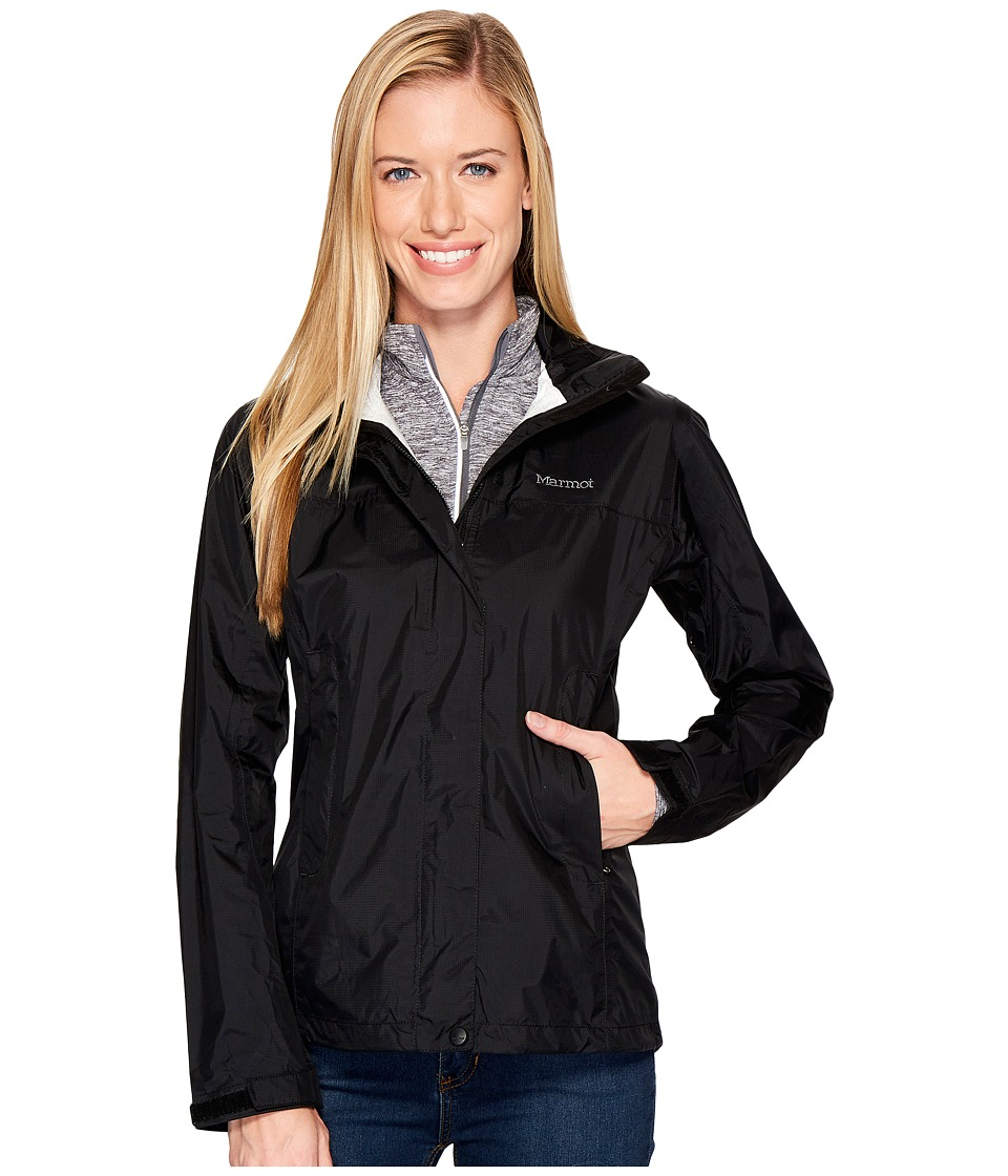 Marmot PreCip Jacket (Black 1) Women