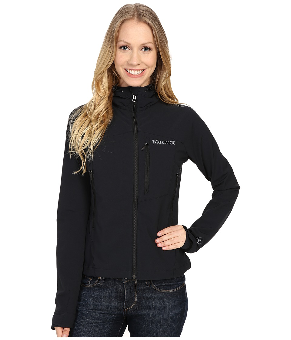 Marmot Estes Hoodie Black Womens Sweatshirt