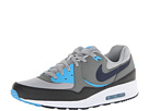 Nike - Air Max Light Essential (Base Grey/Med Base Grey/Vivid Blue/Black)