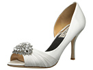 Badgley Mischka - Pearson (White Satin)