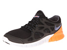 Nike - Free Run+ 2 (Black/White/Atomic Orange/Iron Purple)