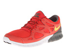 Nike - Free Run+ 2 (Light Crimson/White/Black/Bright Citron)