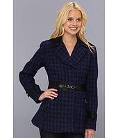 Jessica Simpson - Houndscheck Wool Coat