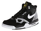Nike - Flight '13 Mid (Black/Tour Yellow/White)