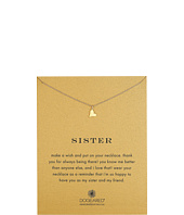 Dogeared - Sisters Happy Heart Reminder Necklace