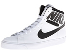 Nike - Match Supreme Hi (White/Black/White/Black)
