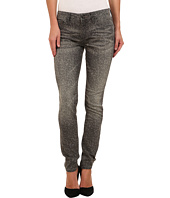 Mavi Jeans - Alexa Printed Mid-Rise Skinny in Grey Lace