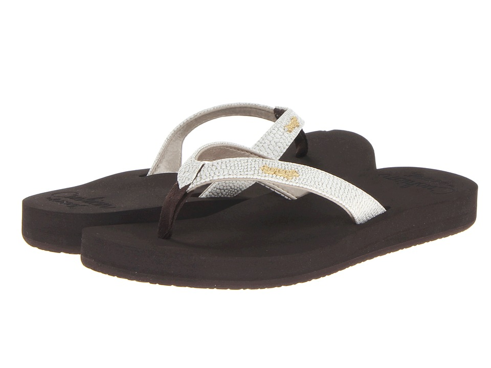 Reef Star Cushion Sassy (Brown/White) Sandals