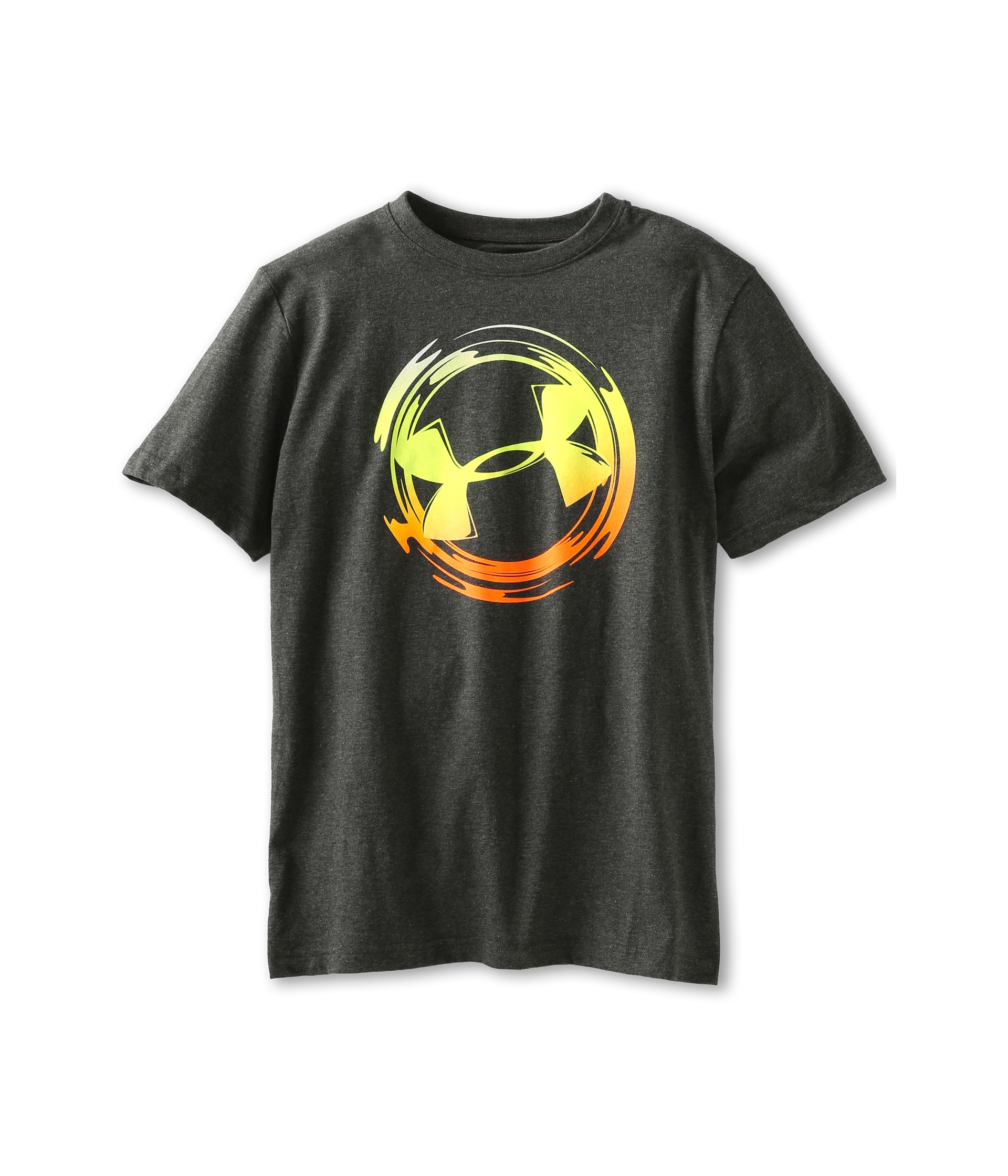 Under armour kids ua logo sphere t shirt big kids for Under armour shirts for kids