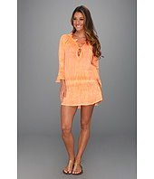 Vix - Sofia by Vix Solid Orange Ashley Cotton Cover Up