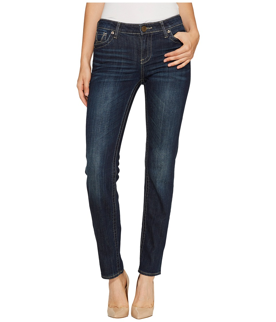 KUT from the Kloth Stevie Straight Leg in Wise (Wise Wash w/ Eur) Women