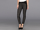 Joe's Jeans Contrast Tux Ankle in Black/Heather Grey