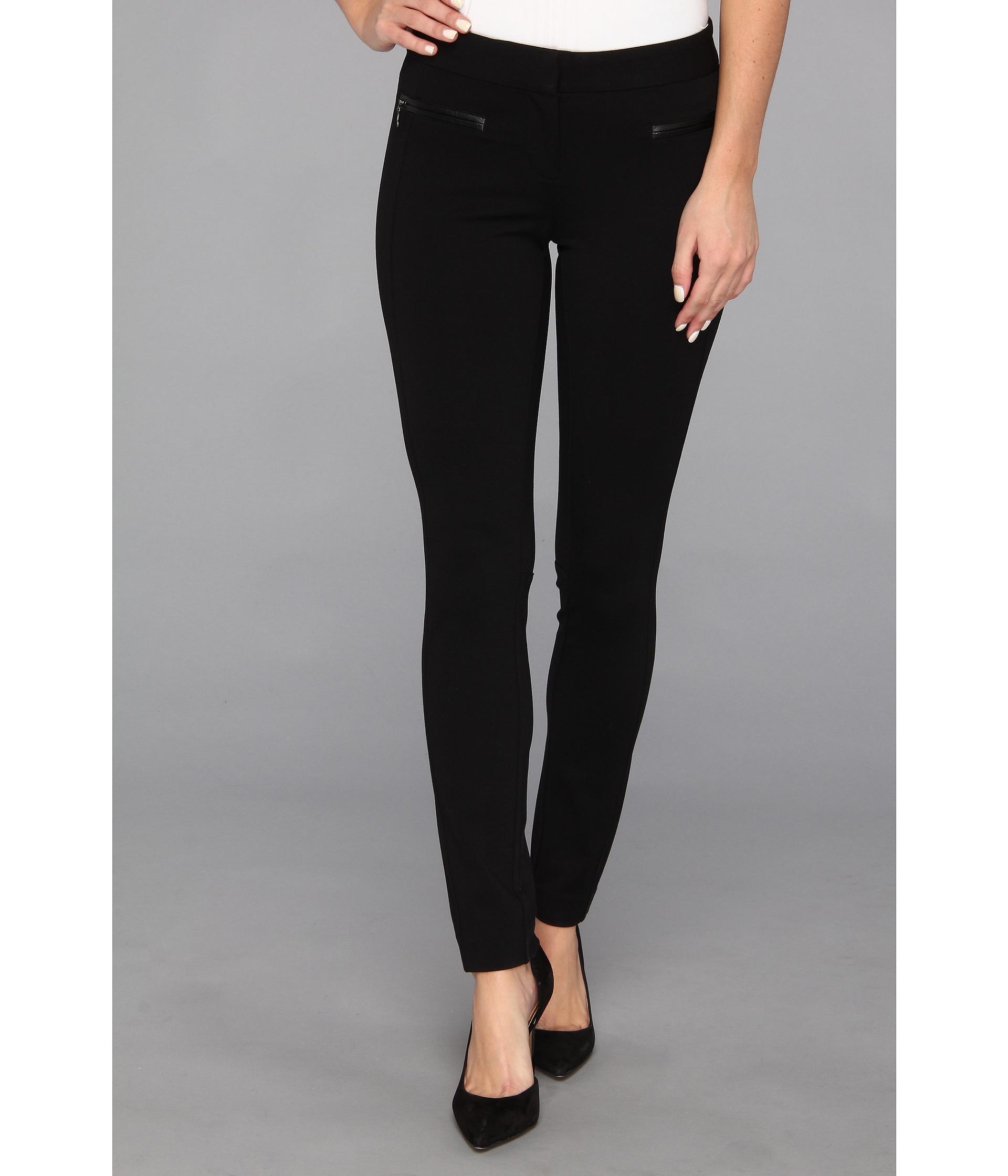 Paige Los Feliz Skinny Pant in Black Black - 6pm.com