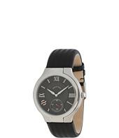 Philip Stein - Large Round Stainless Steel Watch on Ballistic Black Strap