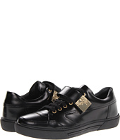 Versace Collection - Patent Sneaker W/ Gold Strap