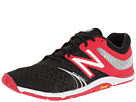 New Balance MX20v3 Black, Red Shoes