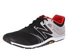 New Balance MX20v3 Black, Silver Shoes
