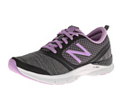 New Balance WX711 Black, Purple Shoes