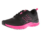 New Balance WX711 Black, Pink Shoes