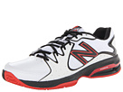 New Balance MC786 White, Red Shoes
