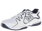New Balance MC786 White, Navy Shoes