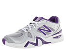 New Balance WC1296 Silver, Purple Shoes