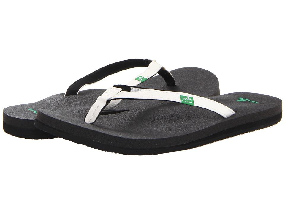 Sanuk Yoga Joy (White) Sandals